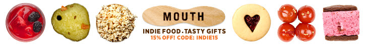 Mouth - Indie Food, Tasty Gifts - Save 15% Off Your First Order