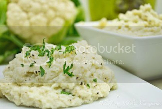 healthy mashed cauliflower recipe