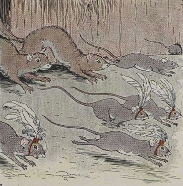 THE MICE AND THE WEASELS