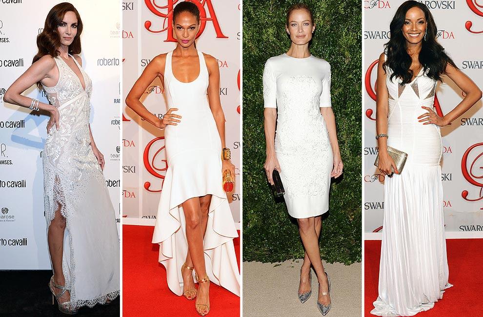 Vestidos de fiesta en color blanco