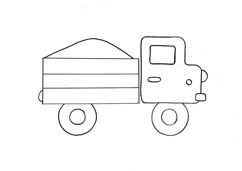 ausmalbilder polizei lastwagen