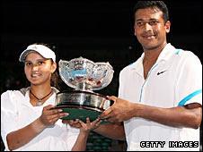 Sania Mirza and Mahesh