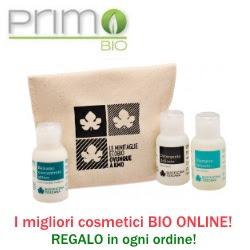 PrimoBio: cosmetici bio on-line