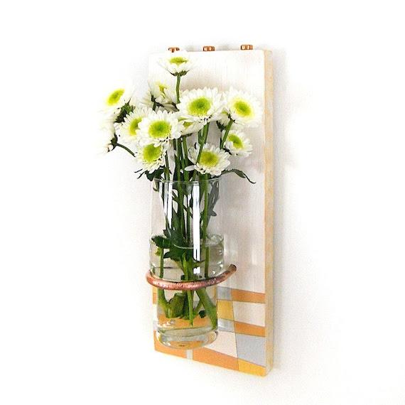 SUNSHINE:  modern wall flower vase