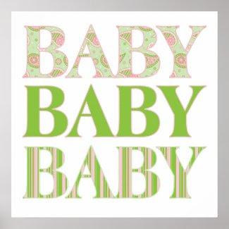 Baby, Baby, Baby Print print