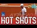 Hot Shot: Wily Karlovic's Sharp Reactions At Madrid 2017