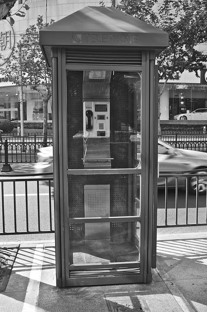 Classy Telephone Booth