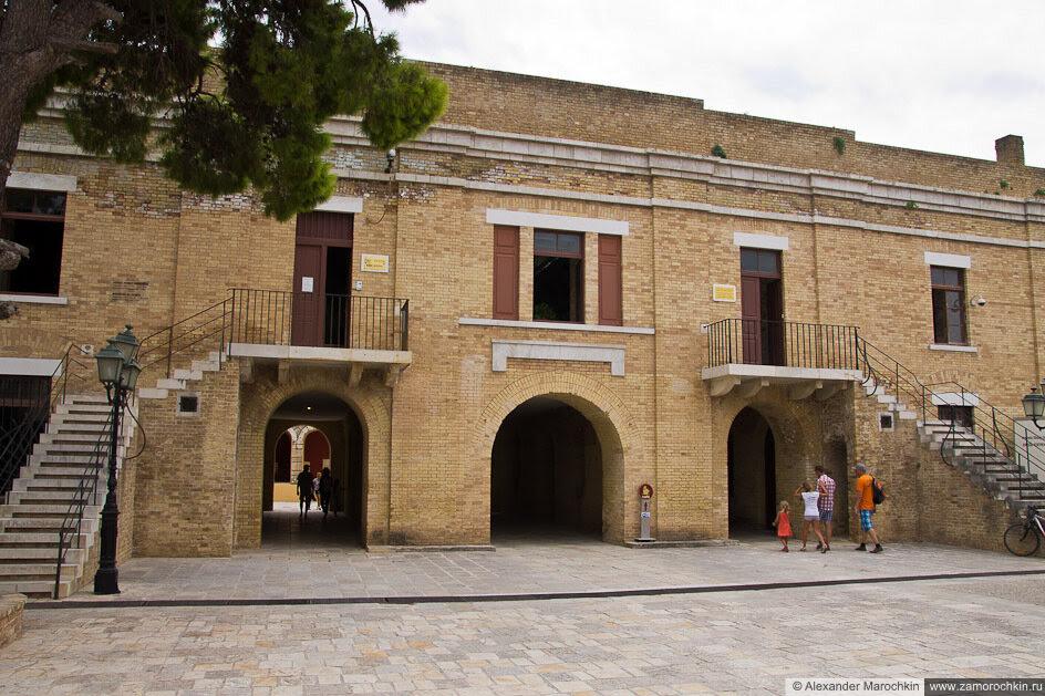 На территории Старой Крепости Керкиры