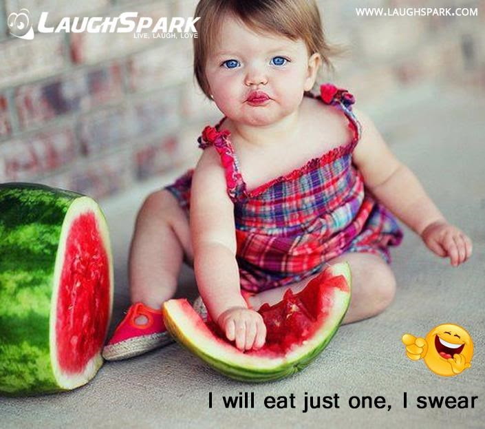 I Will Eat Just One I Swear Cute Baby Eating Picture