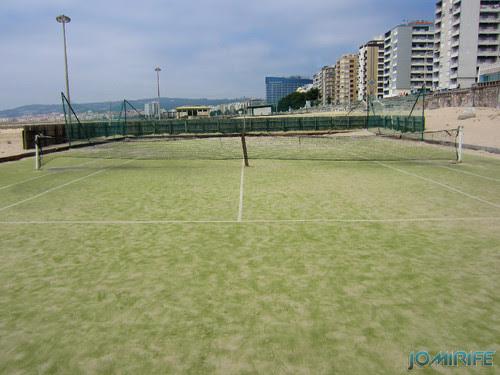 Campos de praia da Figueira da Foz / Buarcos #2 - Tenis (7) (degradado) [en] Game fields on the beach of Figueira da Foz / Buarcos - Tenis