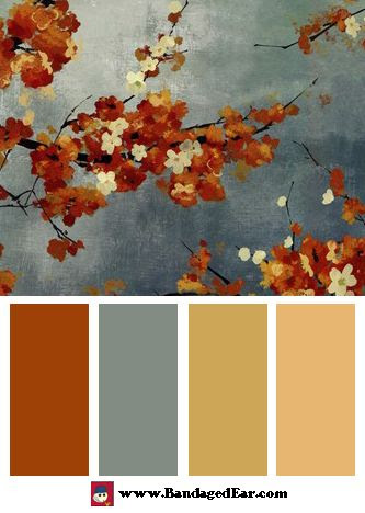 orange-blossoms-ii-by-asia-jensen- color palette