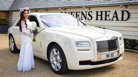 White Rolls Royce Ghost Wedding Car Hire Birmingham, Midlands