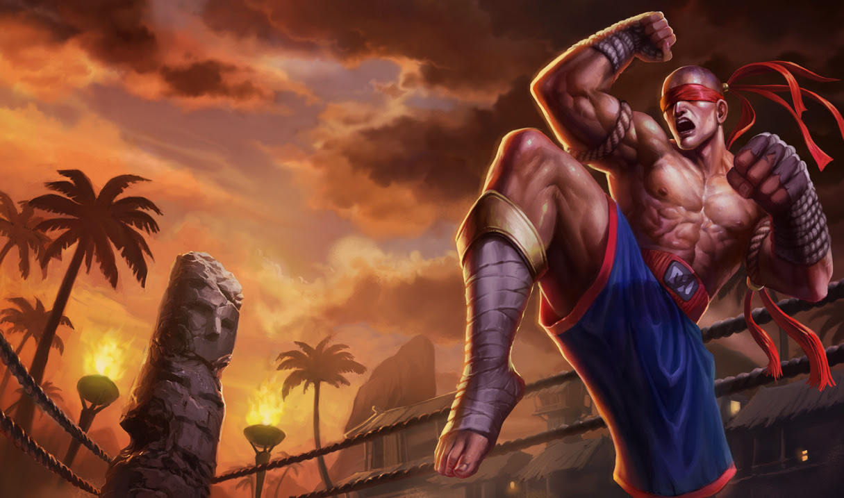 Muay Thai Lee Sin League Of Legends Wallpapers