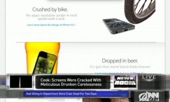 Rivelato l'iPhone 5C: nuova funzione display già frantumato [VIDEO]