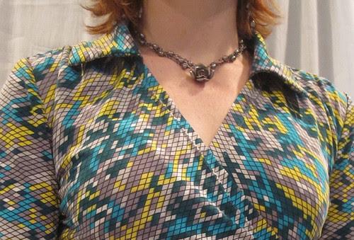 Collar and Shoulder Gather Closeup