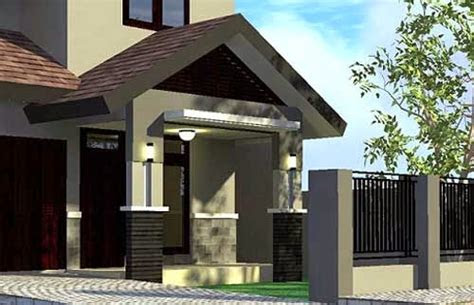 model teras rumah sederhana - desain rumah