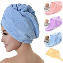 Hair Towel Cap Rapid Drying Hair Thick Absorbent Shower Cap