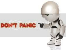 Don't Panic Pictures, Images and Photos