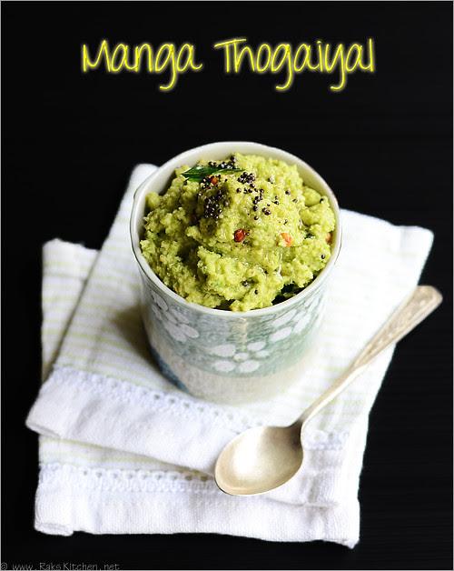 manga-thogaiyal-recipe