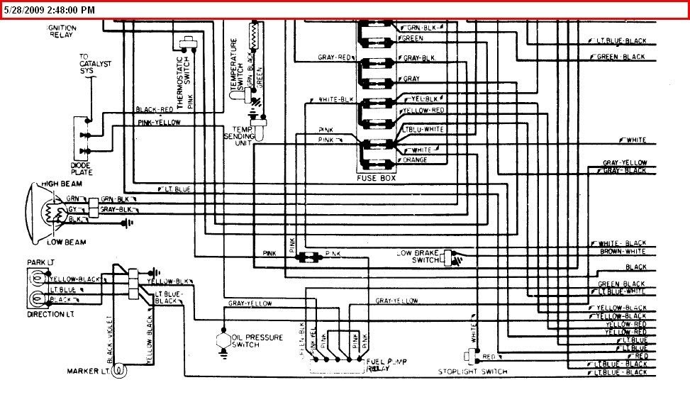 1979 Corvette Electrical Diagram Wiring Schematic