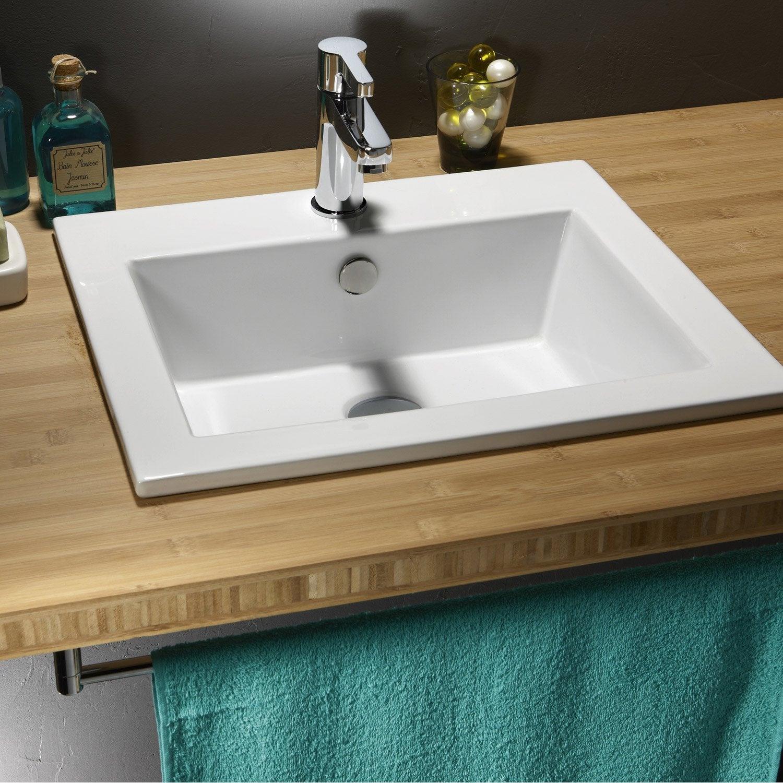 Vasque Salle De Bain Sur Plan De Travail plan de travail salle de bain leroy merlin | salle de bain