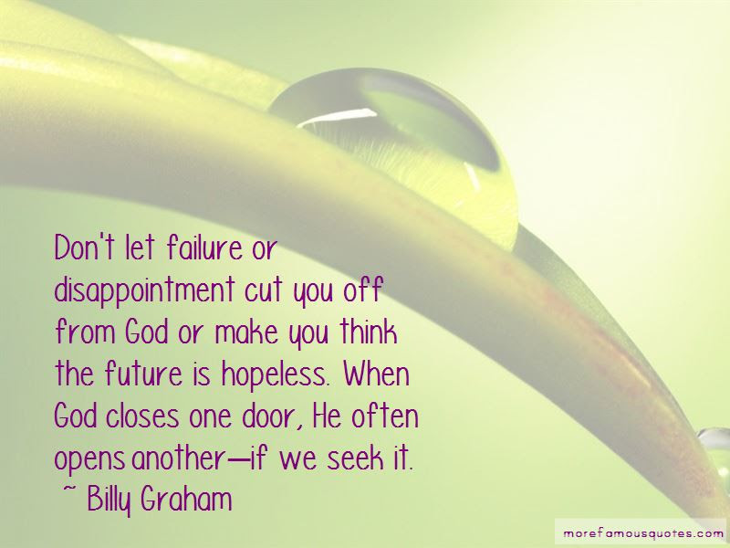 When God Closes A Door He Opens Another Quotes Top 1 Quotes About