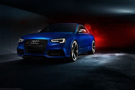 Blue Audi RS5 Wallpaper   image #309