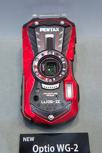 CP+ 2012  Pentax WG-2