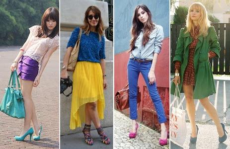 486378 Sapatos coloridos como combinar dicas.3 Sapatos coloridos, como combinar: dicas