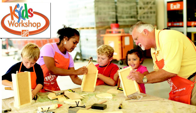 Home Depot Kids Workshop: Build Something Every Day this March Break!