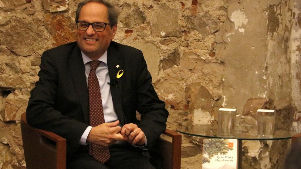 """Torra apuesta por """"otro 1-O"""" para hacer efectiva la """"república catalana"""""""