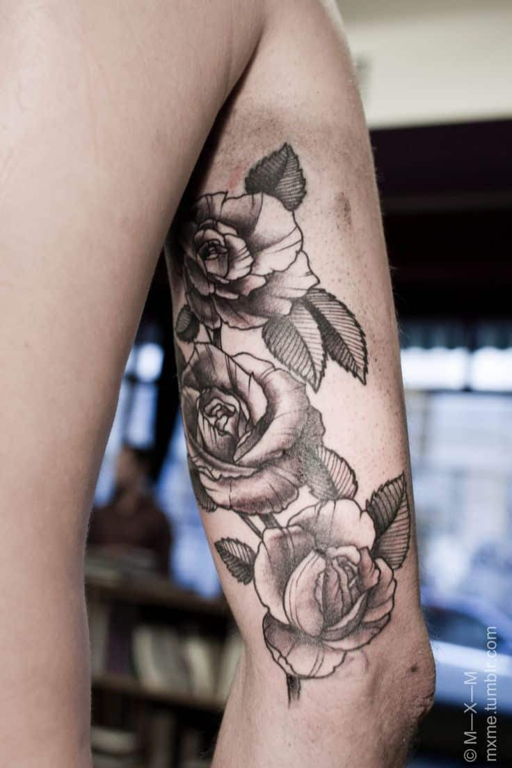 Rose Tattoos For Men Ideas And Inspiration For Guys