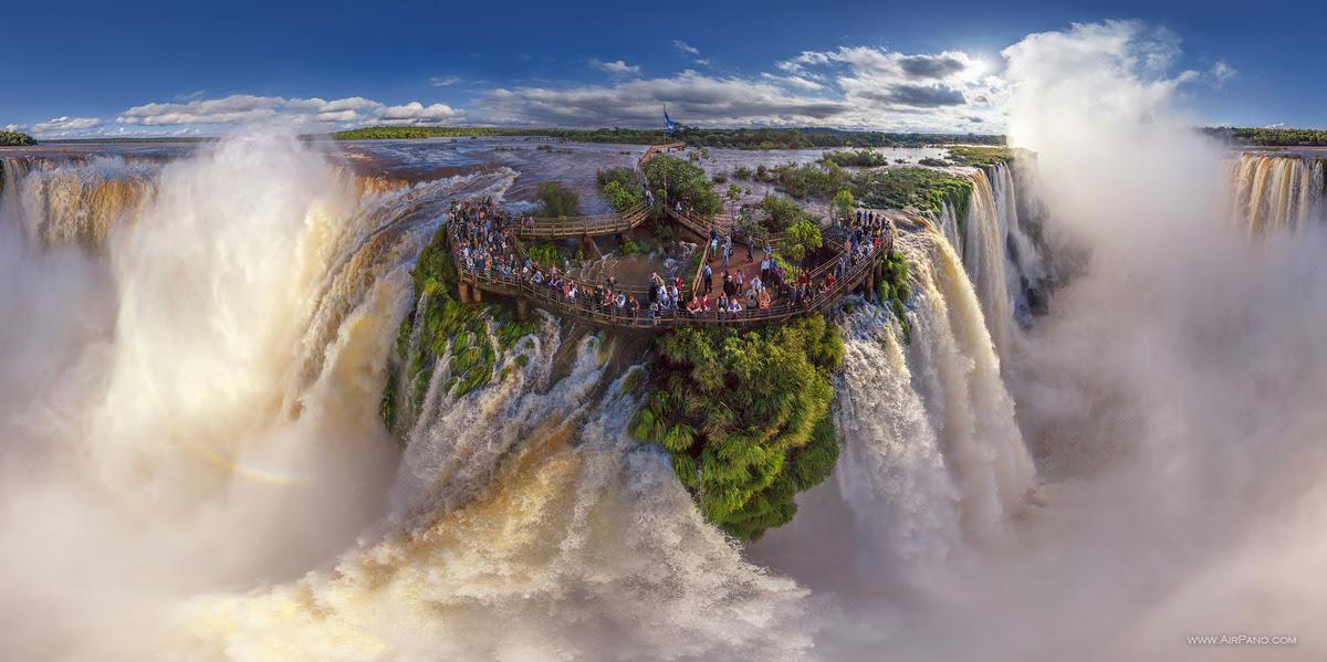 Iguzau Şelaleleri, Arjantin ve Brezilya