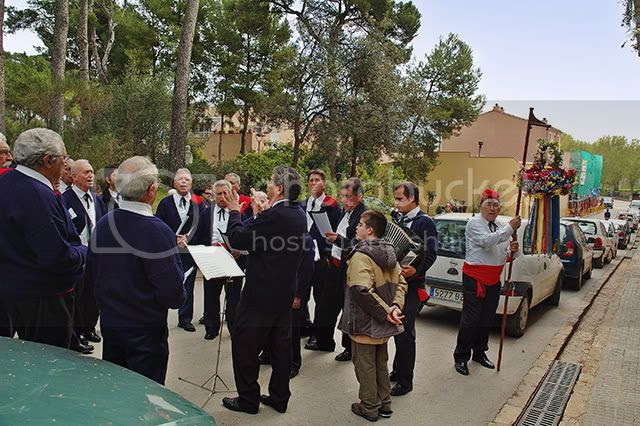 Singers Rehearsing at Colonia Guell, Barcelona