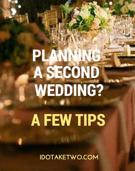 Second Wedding Planning Ideas