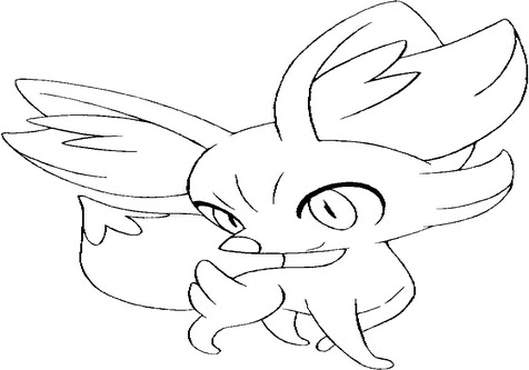 Chespin Coloring Pages - Coloring Pages Kids 2019