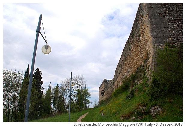 Romeo & Juliet castles in Montecchio Maggiore, Italy - S. Deepak, 2013