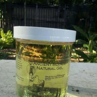 Plant Based Herbal Gel for Unlocked Natural Hair, Locked Naturals, Twists & Braids...16ozs (New larger size)