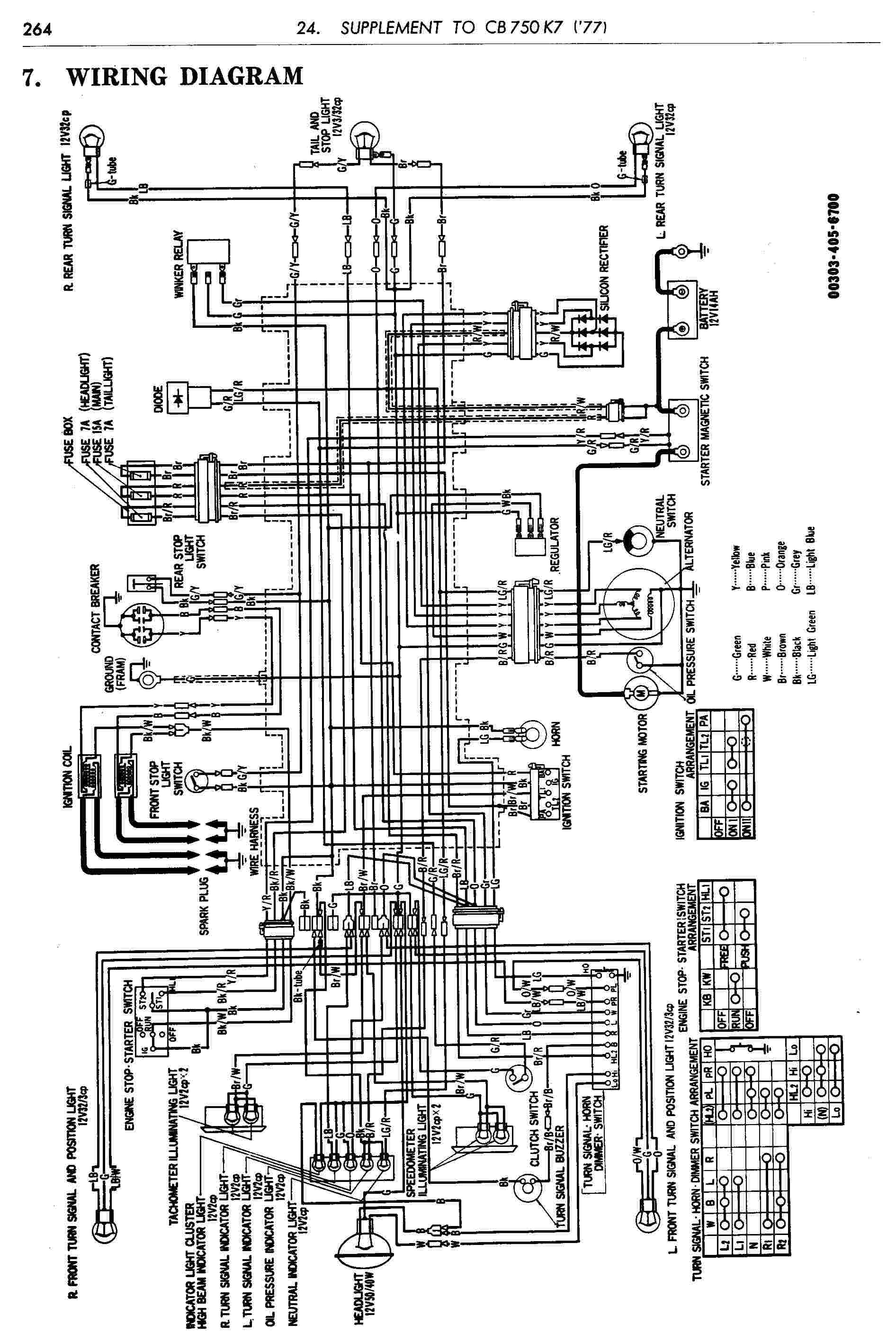 Cb750 Chopper Wiring Diagram 750