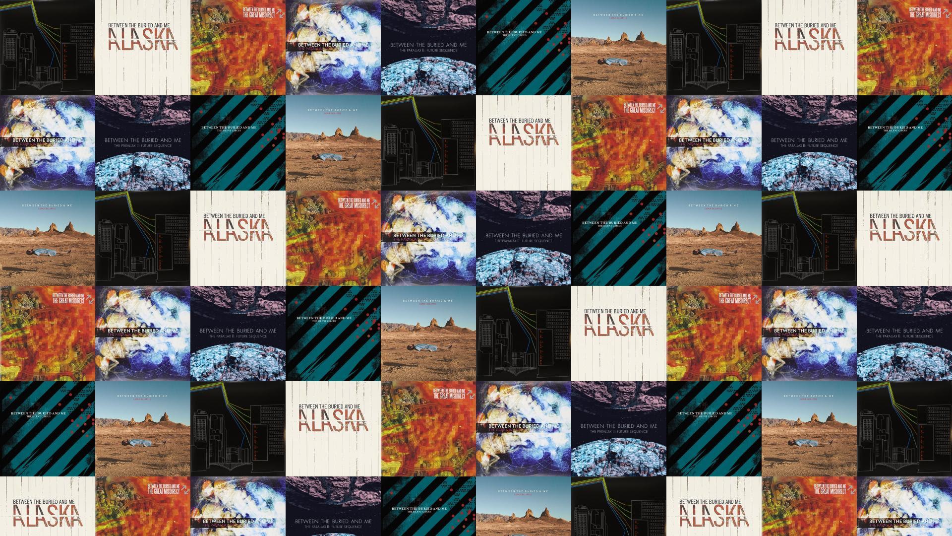 Between Buried Me Colors Alaska Great Misdirect Wallpaper Tiled