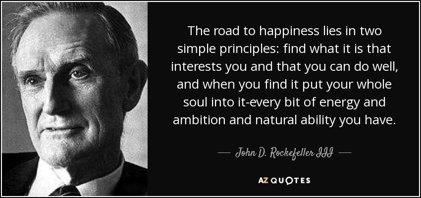 john d rockefeller quotes images