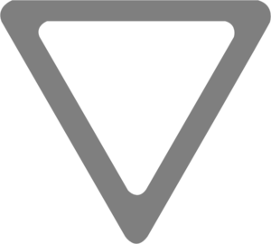 Yield Sign Template