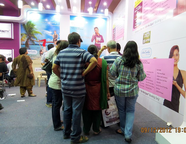 Pune Property Exhibition - Sakal Vastu - Property Expo - December 2012 - 7