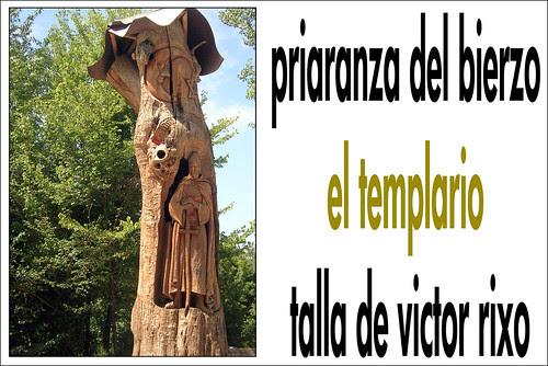 priaranza del bierzo el templario talla de victor rixo
