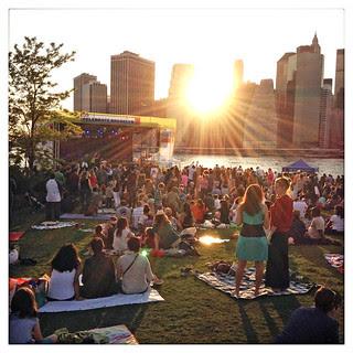 brooklyn bridge park BRIC concert