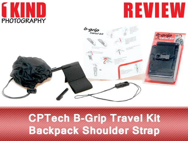 Review: CPTech B-Grip Travel Kit Backpack Shoulder Strap