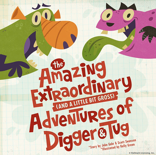The Amazing Extraordinary {and a little bit gross} Adventures of Digger & Tug