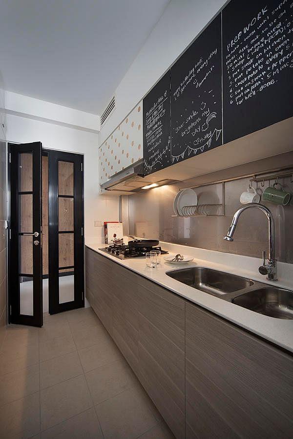 Kitchen design ideas: 8 stylish and practical HDB flat gallery ...