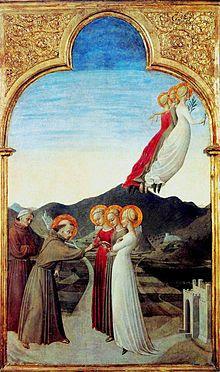 Casamento de São Francisco com a Senhora Pobreza