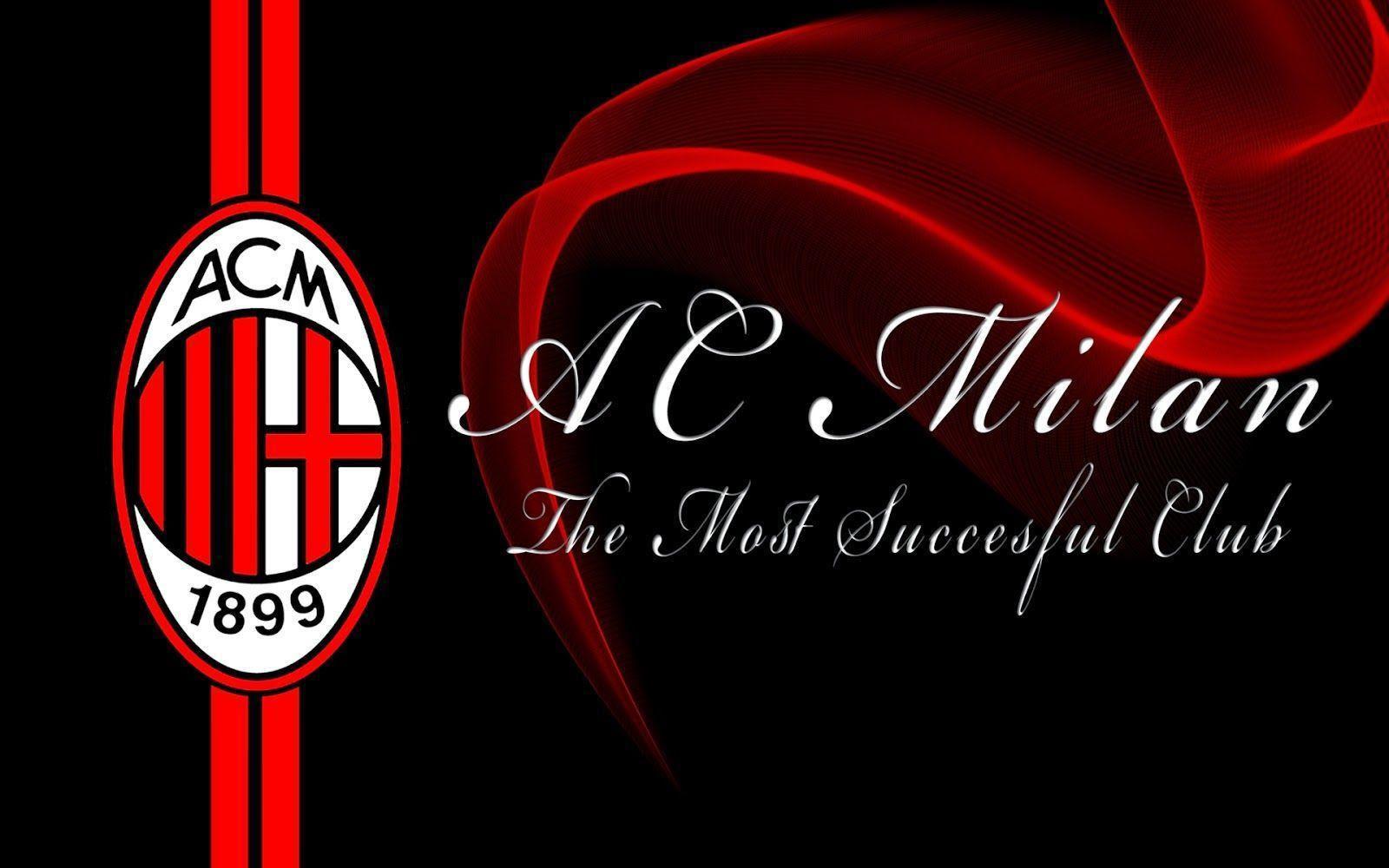 Logo Ac Milan Wallpapers 2016 - Wallpaper Cave